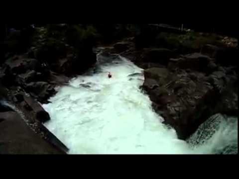 Extreme Kayaking Mclarens falls New Zealand 2010