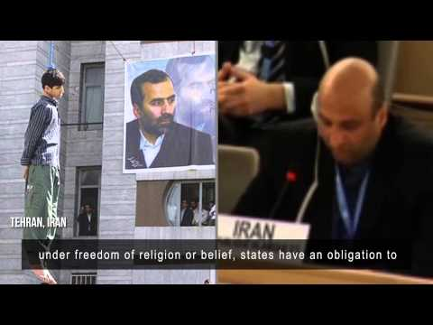 Iran does freedom of religion at the UN 'Human Rights' Council