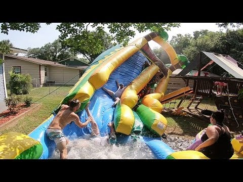 Video TERRIFYING BIRTHDAY WATERSLIDE ACCIDENT!! download in MP3, 3GP, MP4, WEBM, AVI, FLV January 2017