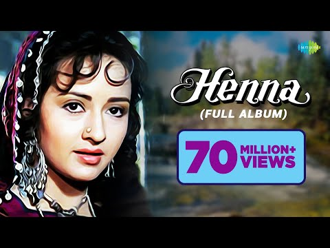 'Henna' Movie Songs | Main Hoon Khushrang Henna | Audio Jukebox | Rishi Kapoor | Zeba | Ashwini