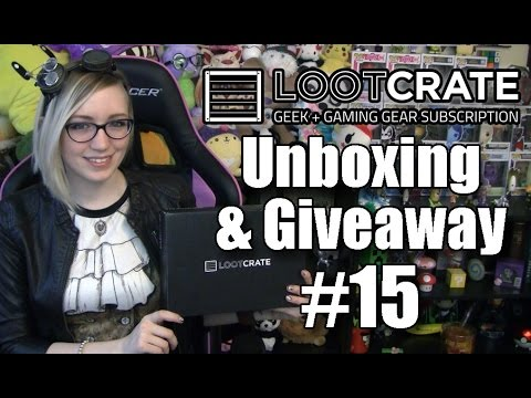 LOOT!!! - Loot Crate Giveaway and Unboxing #15 Loot Crate: http://www.lootcrate.com/TradeChat 10% Off with Code: TRADECHAT Giveaway Details: To win an November Loot Crate: Leave a comment on this ...