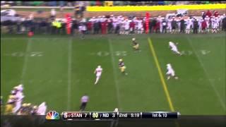 Chase Thomas vs Notre Dame (2012)