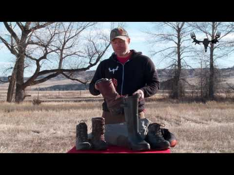 How To Choose Hunting Boots With Dan Doty