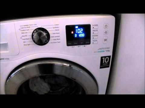 Samsung Washing Machine WF90F7E6U6W Review January 2015