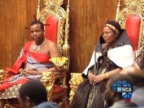 eNCA | Swazi King Pledges to Decrease Royal Spending