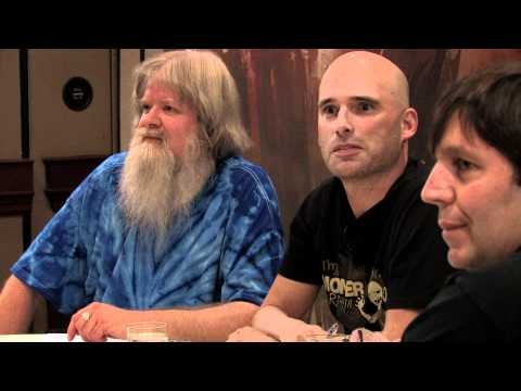 RA Salvatore - The first part of our Gen Con 2010 Celebrity D&D Game: featuring Larry Elmore, R.A. Salvatore, and Ed Greenwood, along with DM Chris Perkins.