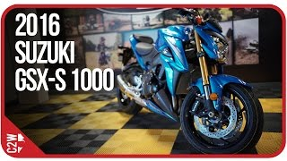 4. 2016 Suzuki GSX-S 1000 | First Ride (4k)