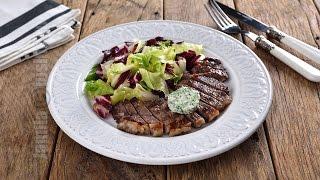 Friptura de vita cu unt aromat | Beef steak with aromatic butter (CC Eng Sub) | JamilaCuisine