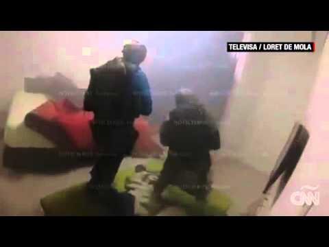 Video de la captura del 'Chapo'
