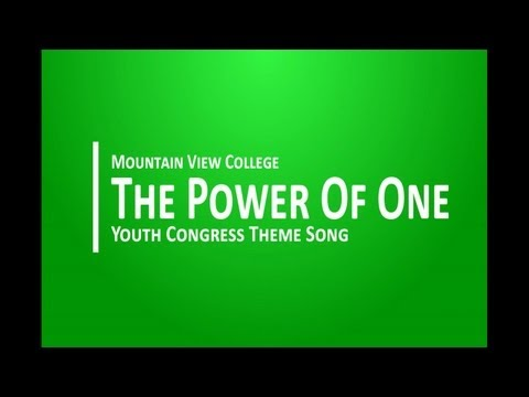 The Power of One with lyrics - wenser25