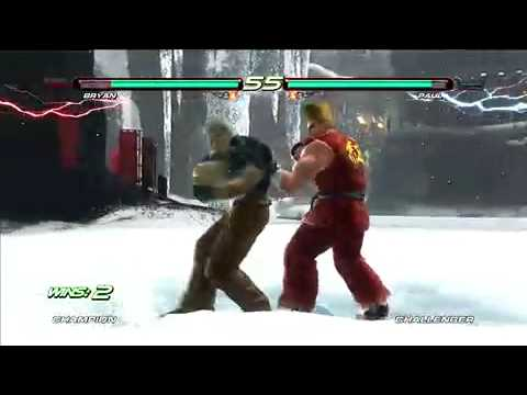 TEKKEN 6(PS3) gameplay