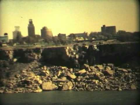 Dewatering Niagara Falls.
