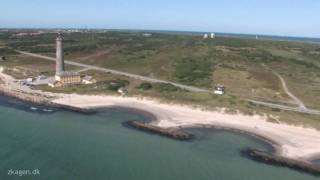 Helikopter Flyvning Over Skagen Denmark HD