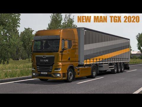 Man TGX 2020 v1.0 1.37/1.38