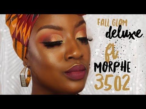 Fall Glam Deluxe- ft. Morphe 35O2 Palette