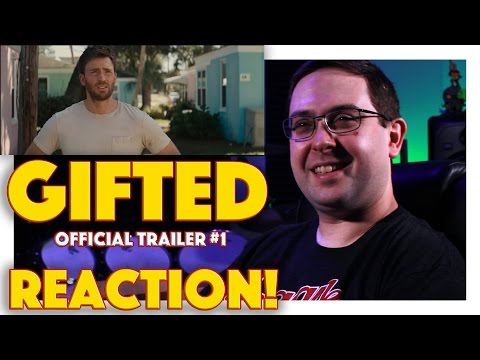 REACTION! Gifted Official Trailer #1 - Chris Evans Movie 2017