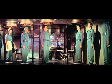 Forbidden Planet (1956) - Intro Scene HD