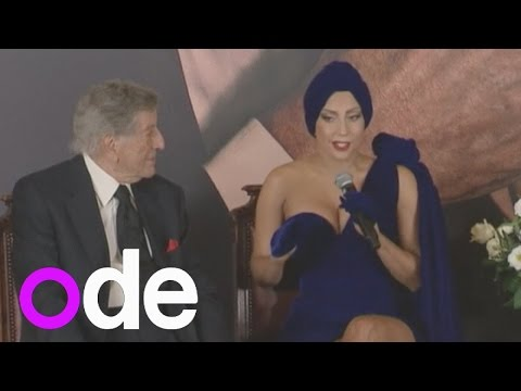 Tony - Shedding her quirky side slightly, Lady Gaga has launched a joint jazz album with legendary singer Tony Bennett. Report by Claire Lomas.
