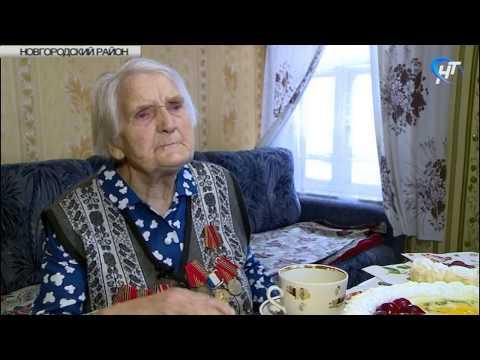95 лет исполнилось жительнице Новгородского района Прасковье Шабашевой