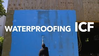 Waterproofing Bautex Insulated Concrete Forms