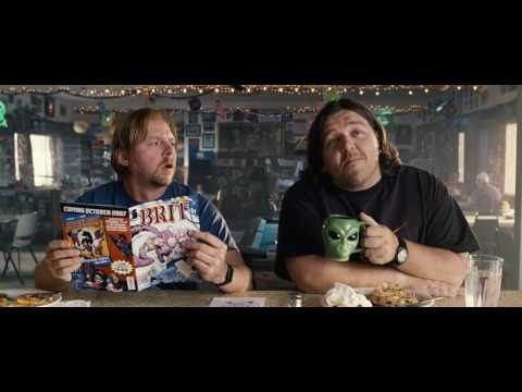 paul trailer 2 - The new trailer for the British buzzed comedy about as two sci-fi geeks whose pilgrimage takes them to America's UFO heartland. While there, they accidentall...