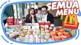 Video BELI SEMUA MENU DI McDonald's McD !! #BORONG MP3, 3GP, MP4, WEBM, AVI, FLV Juni 2019
