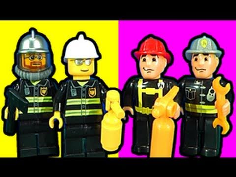 Mega Bloks - How much would you pay for a brick based fire station? I look at the very impressive BUT expensive LEGO fire station against a Mega Bloks fire station which ...