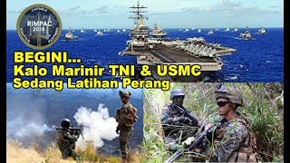 Video INTIP...!!! Marinir TNI Mendarat di Amerika || LATIHAN (Rimpac 2018) MP3, 3GP, MP4, WEBM, AVI, FLV November 2018