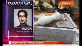 Video Pusara Allahyarham Tan Sri P.Ramlee musnah MP3, 3GP, MP4, WEBM, AVI, FLV Juli 2018