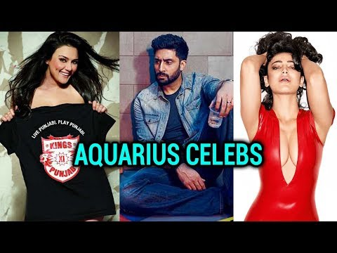 Famous Aquarians Of Bollywood | Abhishek Bachchan,