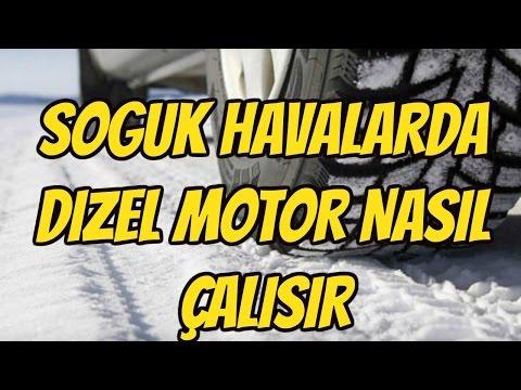 SOĞUK HAVALARDA DİZEL MOTOR NASIL ÇALIŞIR (COLD START)
