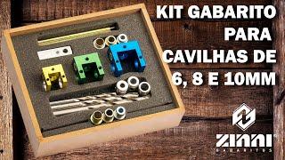 Kit Gabarito Cavilhas - Zinni