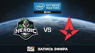 Heroic vs Astralis - IEM Katowice - semifinal - map1 - de_train [CrystalMay, Enkanis]