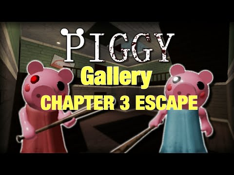 Roblox Piggy | How to escape gallery *chapter 3* (tutorial)