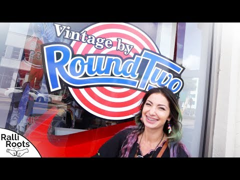 Round Two Vintage South Beach Miami Grand Opening | Buying & Selling VTG Clothing