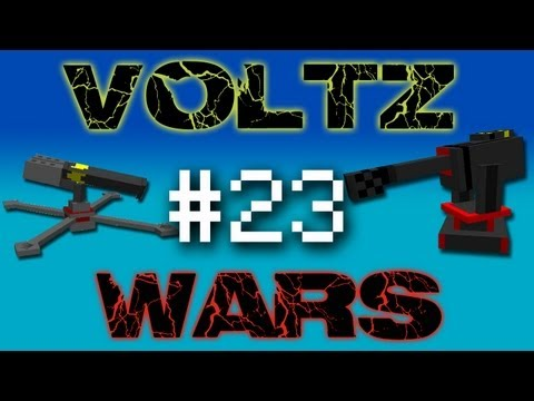 Minecraft Voltz Wars - Strange Portal Door! #23