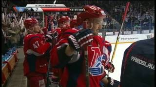 Loktionov scores two SH goals in the 3rd period