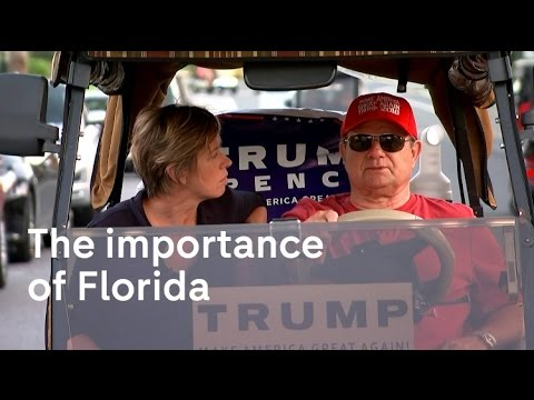 Florida in the run up to the US Presidential Election