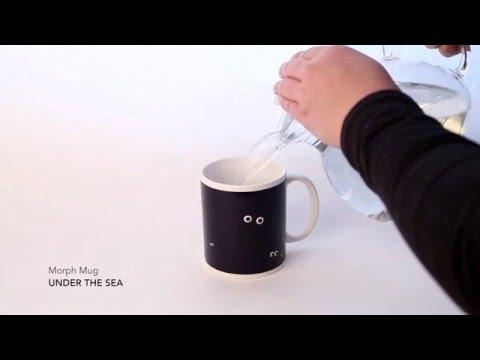 Kaffeebecher UNDER THE SEA MORPH MUG  Video