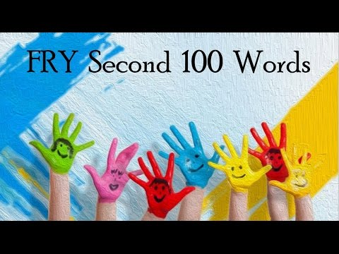 FRY Second 100 Words | Learn to Read | Musical | Dancing Letters | Common Core