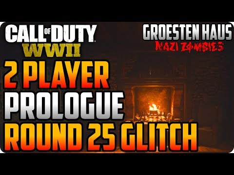 WWII Zombie Glitches: 2 Player Prologue Glitch To Unlock Mountaineer - Groesten Haus Glitches (видео)