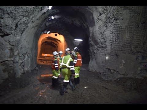 Mina subterranea, Cerro Negro