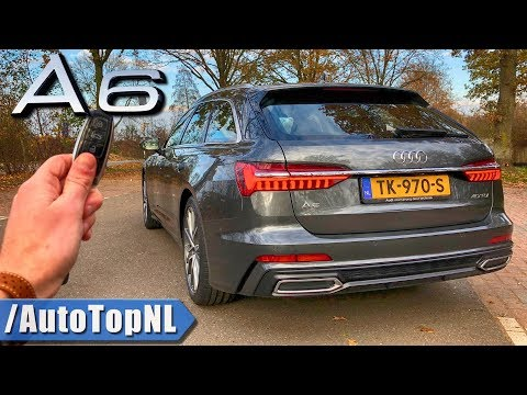 Audi A6 Avant 2019 REVIEW POV Test Drive on AUTOBAHN & ROAD by AutoTopNL