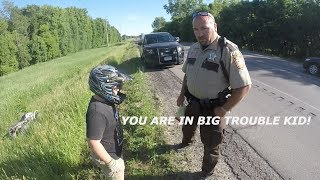Video COP PULLS OVER ATV'S!!! MP3, 3GP, MP4, WEBM, AVI, FLV Juni 2017
