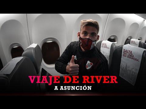 Ezeiza - Asunción: rumbo a otra noche de Libertadores