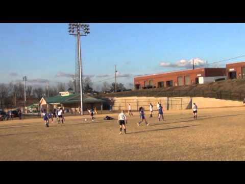 Hannah Shute #38 Highlights - Tophat Navy 16 vs. AYSA - 2012 Norcross Nike Cup
