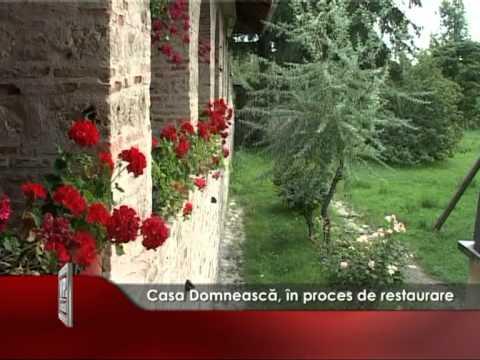 Casa Domnească, în proces de restaurare