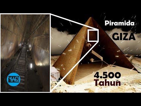BELUM PERNAH DIBUKA SELAMA 4.500 TAHUN ! Inilah Rahasia Besar Yang Tersembunyi Didalam Piramida Giza