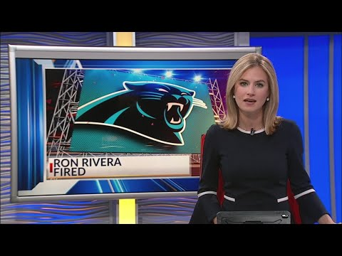 Ron Rivera fired as Panthers coach