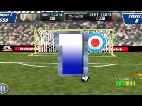Video of Soccer Free Kick